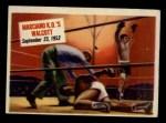 1954 Topps Scoop #65   -  Rocky Marciano Marciano KOs Walcott  Front Thumbnail