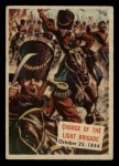 1954 Topps Scoop #155   Charge Of The Light Brigade Front Thumbnail
