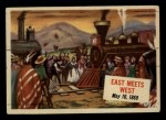 1954 Topps Scoop #44   East Meets West  Front Thumbnail