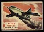 1954 Topps Scoop #139   Air Speed Record Set Front Thumbnail