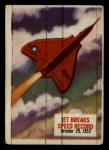 1954 Topps Scoop #66   Jet Breaks Speed Record Front Thumbnail