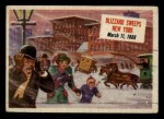 1954 Topps Scoop #48   Blizzard Sweeps New York Front Thumbnail