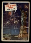 1954 Topps Scoop #11   Statue Of Liberty Unveiled Front Thumbnail