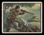 1950 Topps Freedoms War #38   Strange Weapon   Front Thumbnail