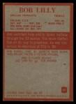 1965 Philadelphia #47  Bob Lilly  Back Thumbnail