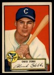 1952 Topps #62 RED Chuck Stobbs  Front Thumbnail