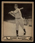 1940 Play Ball #201  Barney McCosky  Front Thumbnail