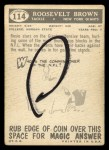 1959 Topps #114  Roosevelt Brown  Back Thumbnail