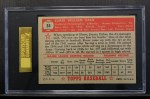 1952 Topps #34 RED Elmer Valo  Back Thumbnail