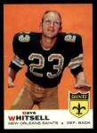 1969 Topps #14  Dave Whitsell  Front Thumbnail