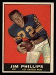 1961 Topps #51  Jim Phillips  Front Thumbnail