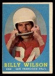 1958 Topps #95  Billy Wilson  Front Thumbnail