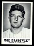 1960 Leaf #68  Moe Drabowsky  Front Thumbnail