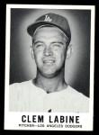 1960 Leaf #60  Clem Labine  Front Thumbnail