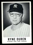 1960 Leaf #22  Ryne Duren  Front Thumbnail