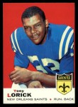 1969 Topps #61  Tony Lorick  Front Thumbnail