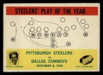1964 Philadelphia #154   -  Buddy Parker    Steelers Play of the Year Front Thumbnail