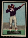 1951 Topps #27  Gil Bartosh  Front Thumbnail