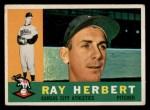 1960 Topps #252  Ray Herbert  Front Thumbnail