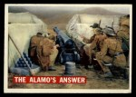 1956 Topps Davy Crockett #54 ORG  The Alamo's Answer  Front Thumbnail