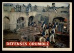 1956 Topps Davy Crockett #70 ORG  Defenses Crumble  Front Thumbnail