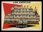 1960 Topps #18   Dodgers Team Checklist Front Thumbnail