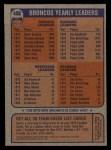 1976 Topps #458   Broncos Team Checklist Back Thumbnail