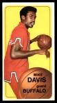 1970 Topps #29  Mike Davis   Front Thumbnail