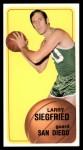 1970 Topps #88  Larry Siegfried   Front Thumbnail