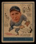 1938 Goudey Heads Up #278  Van Lingle Mungo  Front Thumbnail