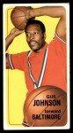 1970 Topps #92  Gus Johnson   Front Thumbnail