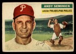 1956 Topps #296  Andy Seminick  Front Thumbnail