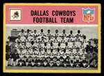 1967 Philadelphia #49   Dallas Cowboys Team Front Thumbnail