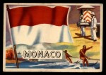 1956 Topps Flags of the World #79   Monaco Front Thumbnail