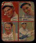 1935 Goudey  Tony Piet / Adam Comorosky / Jim Bottomley / Sparky Adams  Front Thumbnail