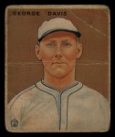 1933 Goudey #236  George Davis  Front Thumbnail