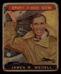 1933 Goudey Sport Kings #26  James Wedell   Front Thumbnail