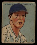 1933 Goudey #217  Frank Crosetti  Front Thumbnail