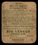 1933 Goudey #60  Waite Hoyt  Back Thumbnail
