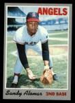 1970 Topps #29  Sandy Alomar  Front Thumbnail