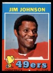 1971 Topps #24  Jimmy Johnson  Front Thumbnail