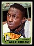 1965 Topps #148  Willie Kirkland  Front Thumbnail
