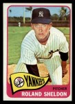 1965 Topps #254  Roland Sheldon  Front Thumbnail