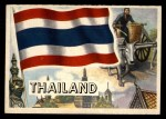 1956 Topps Flags of the World #53   Thailand Front Thumbnail