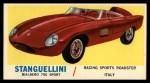 1961 Topps Sports Cars #35   Stanguellini Bialbero 750 Sport Front Thumbnail