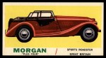 1961 Topps Sports Cars #17   Morgan Plus Four Front Thumbnail