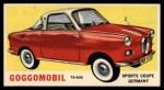 1961 Topps Sports Cars #56   Goggomobil Front Thumbnail