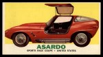 1961 Topps Sports Cars #12   Asardo Front Thumbnail