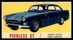 1961 Topps Sports Cars #21   Peerless GT Front Thumbnail