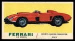 1961 Topps Sports Cars #50   Ferrari 4.9 Sports Front Thumbnail